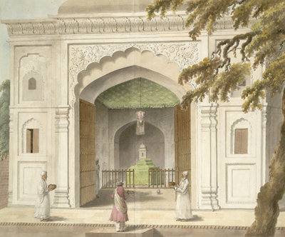 Mausoleum of Hafiz Rahmat Khan by Sita Ram - print