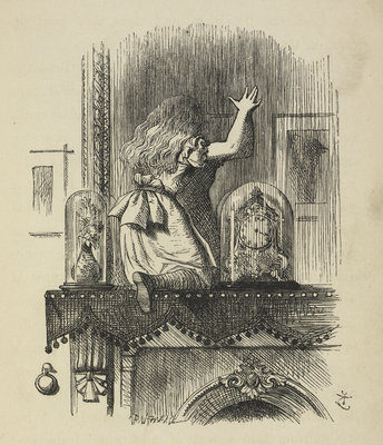 Through the looking-glass, and what Alice found there by John Tenniel - print