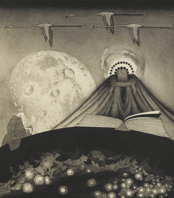 'It' from The Gods of Pegana by Sidney Sime - print
