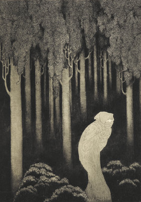 'Hish' from The Gods of Pegana by Sidney Sime - print