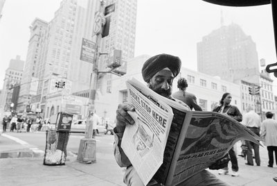 Royinder Singh, originally from Delhi by Michael Katakis - print