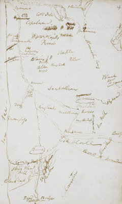 Samuel Coleridge's Lakes notebook by Samuel Coleridge - print