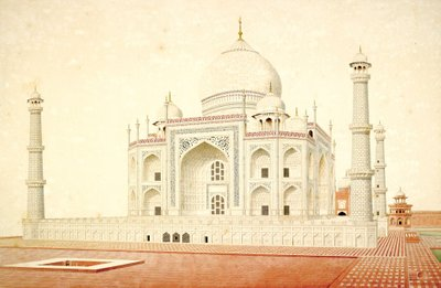 Taj Mahal by Anonymous - print