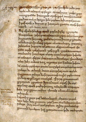 The Anglo-Saxon Chronicle by Anonymous - print