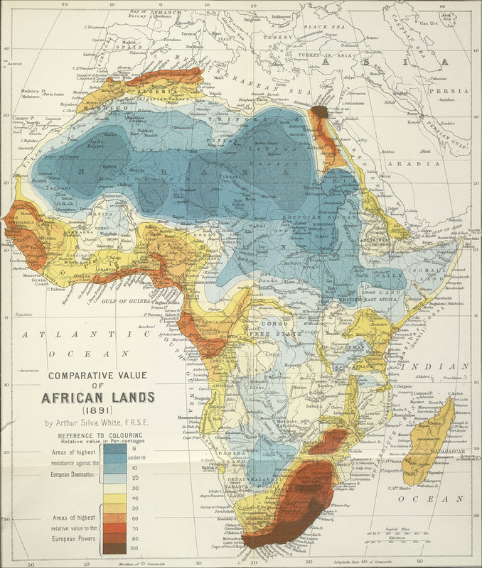 a comparison of the african and