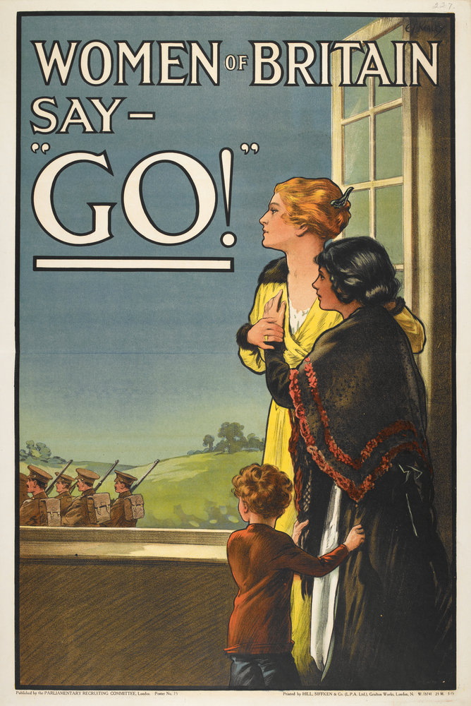 Women Of Britain Say Go By E V Kealy British Library Prints