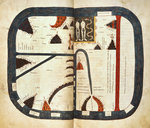 Beatus world map by Samuel Coleridge - print