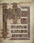 Lindisfarne Gospels Fine Art Print by Anonymous