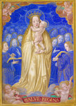 Virgin and Child in Glory by Anonymous - print
