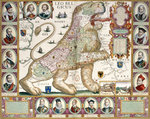 Leo Belgicus Map of Holland