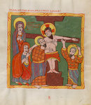 Christ's descent from the cross by Madonna Master - print