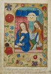 The Annunciation to the Virgin by Anonymous - print