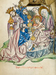 Adoration of the Magi by Gerard Horenbout - print