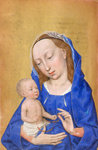 The Virgin and Child by Anonymous - print