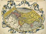 Ptolemic World Map Wall Art & Canvas Prints by Abraham Ortelius