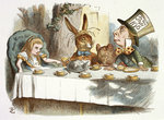 The Mad Hatter's tea party by John Tenniel - print