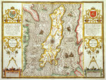 Map of the Isle of Man by John Speed - print