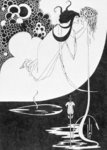 Salome and John the Baptist by Aubrey Beardsley - print