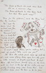 Alice and the Queen of Hearts by Lewis Carroll - print