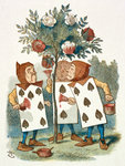 The playing cards by Sir John Tenniel - print