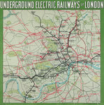 The London Underground by Davis - print