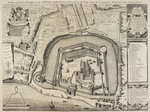 A plan of the Tower of London by Anonymous - print