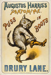 Puss in Boots Wall Art & Canvas Prints by Anonymous