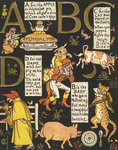 The Absurd ABC by Walter Crane - print