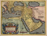 The Middle East by Abraham Ortelius - print