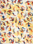Parrot pattern print by John James Audubon - print