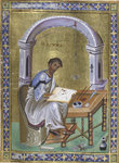 St Luke the Evangelist by Anonymous - print