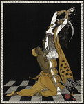 Nijinsky as the Golden Slave in Scheherazade