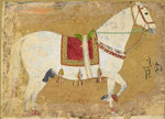 Dara Shikoh's horse by Anonymous - print