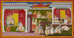 Rama is banished by Manohar - print