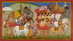 Dasaratha sets out for Mithila by Manohar - print