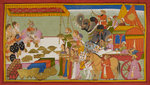 Sita's wedding dowry by Anonymous - print