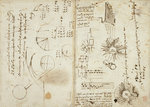 Notebook of Leonardo da Vinci by Leonardo Da Vinci - print