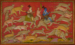 Rama and the monkey army set out to rescue Sita
