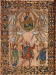 King Edgar and Christ in Majesty by Anonymous - print
