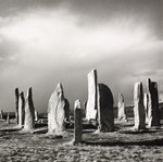 Callanish after hailstorm