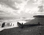 Zig-Zag groynes Wall Art & Canvas Prints by Fay Godwin