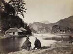 Village near Yokohama by Samuel Bourne - print
