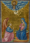 The Annunciation to the Virgin (Hours of the Virgin) by Workshop of the Master of the Morgan Infancy Cycle - print