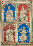 English Kings from Henry II to Henry III by Anonymous - print