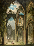 Tintern Abbey by S G. Hulme Beaman - print