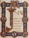 Incipit page of St John's Gospel (Grimbald Gospels) by Anonymous - print