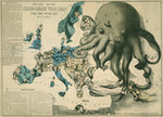 Serio-Comic War Map for the year 1877 by Anonymous - print