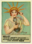 Liberty Calling by Anonymous - print