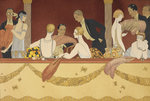 Eventails by George Barbier - print