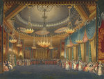 A dance at the Royal Pavilion, Brighton by John Nash - print